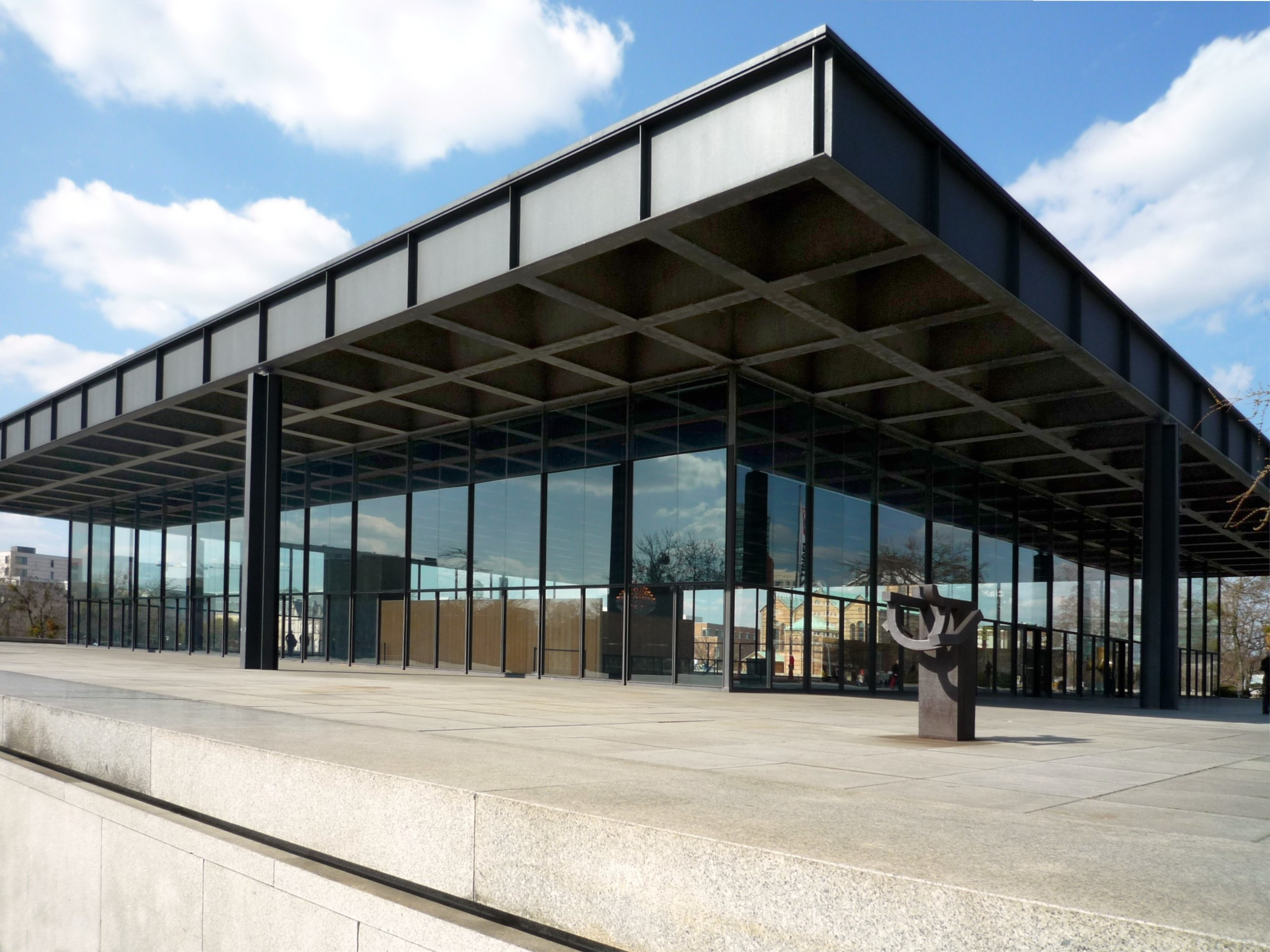 Image result for New National Gallery by Mies Van der Rohe