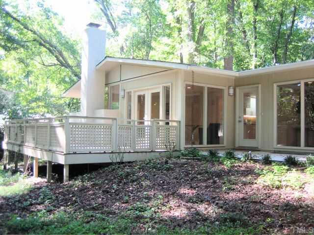 1957 402 Ridgecrest Drive Chapel Hill Sold In 2017 To