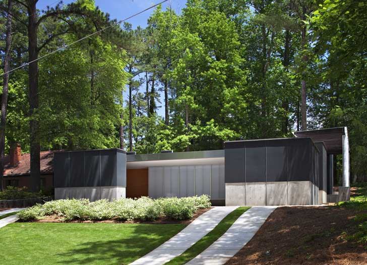 2009 The Chris Clark And Juan Grullon Residence Aka Banbury House 1212 Road Raleigh Collaborating With Reese On This 2500 Sf Were