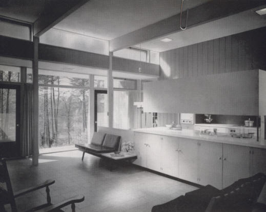 1953   The Ben K. And Barbara Wrenn Graves House, 309 Fairview Avenue,  Mount Airy NC. Designed By Cecil D. Elliott (photo Above) And Marvin R. A.  Johnson.