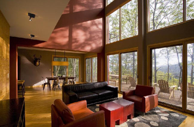 2008 the tate mountain house bat cave nc 2000 sf designed by